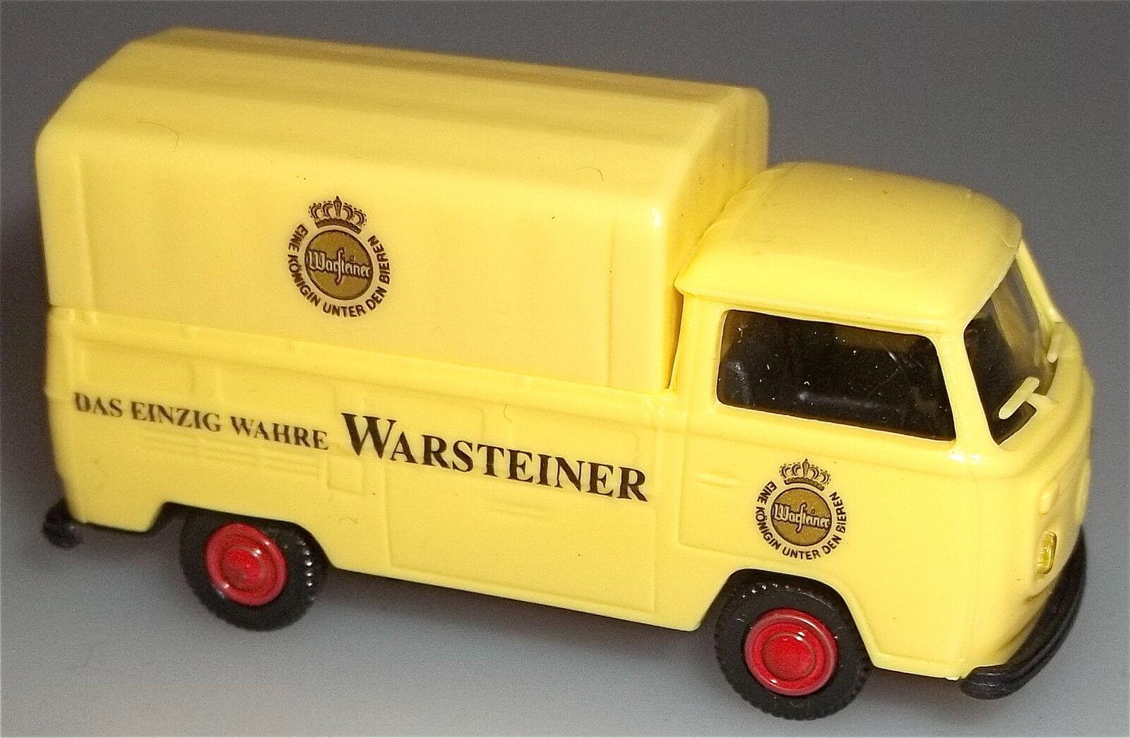 Warsteiner vw t2 bus b â che de camion à plat lagerfund 1  87 å jugendstil