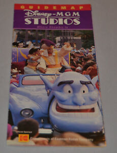 2002 Disney MGM Studios Guide MAP The Great Movie Ride ... on map of disneyland paris studios, map of pixar studios, map of disney universal studios, map of animation studios,