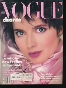 VOGUE-July-1985-Fashion-Magazine-ISABELLA-ROSELLINI-Cover-by-RICHARD-AVEDON