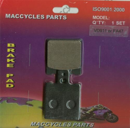 1 set Bimota Disc Brake Pads DB7 2009-2014 Rear