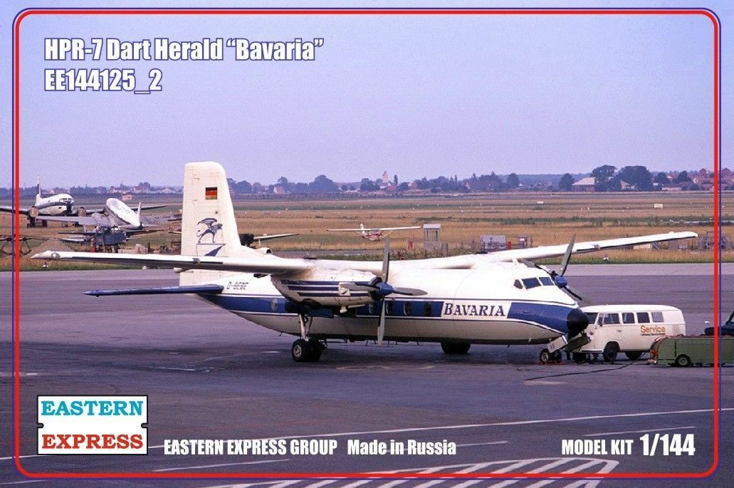 EASTERN EXPRESS 144125-2 HPR-7 DART HERALD BAVARIA SCALE MODEL KIT 1 144