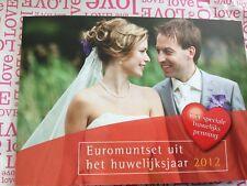 NEDERLAND 2012 HUWELIJKSET BU euromunten