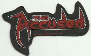 ACCUSED-logo-2005-shaped-WOVEN-SEW-ON-PATCH-official-no-longer-made