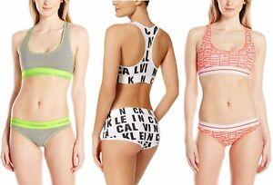 f31292dbd9 Image is loading Calvin-Klein-Women-Underwear-CK-Unlined-Racerback-Sports-
