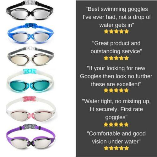 O Nation Clear Comfortable Swimming Goggles with UV Anti-Fog Swim Glasses