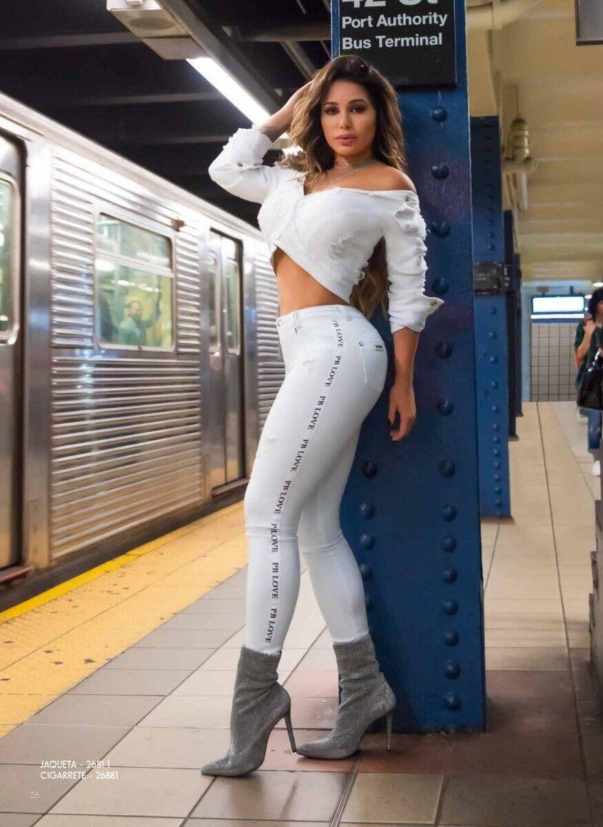 Pit Bull Jeans - Size 9 10 USA (44Brazil ) Ref