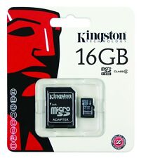 Kingston 32GB Micro SD SDHC Memory Card - 16GB