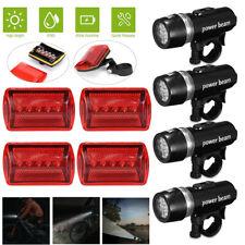 5 LED Lamp Bike Bicycle Front Head Light Rear Safety Waterproof FlashlightB yy