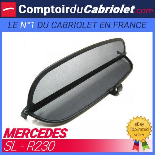 TUV windschott Mercedes SL Filet anti-remous coupe-vent cabriolet R230