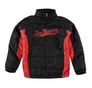 San-Francisco-Giants-MLB-Majestic-Kids-Youth-Size-Full-Zip-Up-Winter-Jacket-New