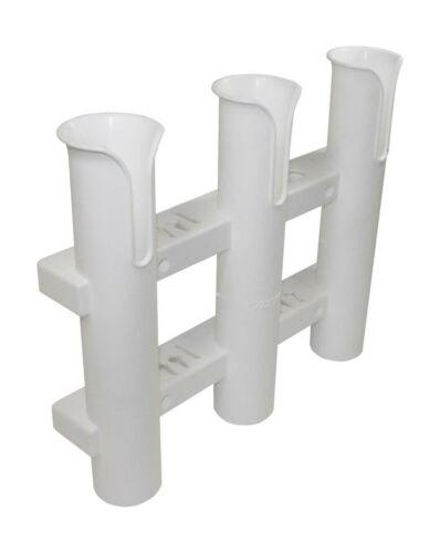 Seasense seule pièce 3 Rack Porte-canne Blanc оnе расk