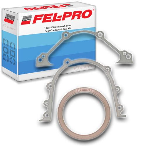 Engine if Fel-Pro Rear Crankshaft Seal Kit for 1995-2006 Nissan Sentra FelPro