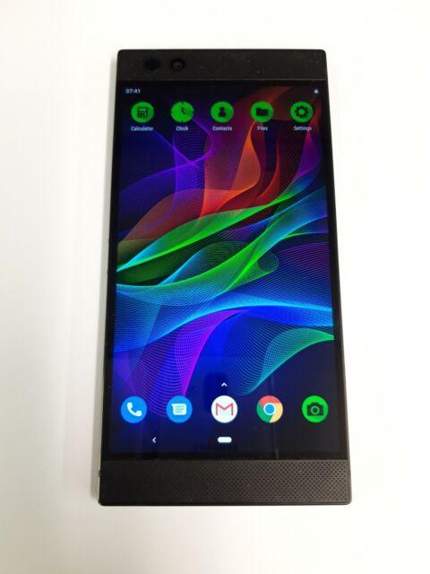Razer téléphone - 64 Go-Noir (Débloqué) Téléphone portable