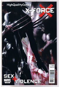 X-FORCE-SEX-and-VIOLENCE-1-VF-Wolverine-2010-more-Wolverine-in-our-store