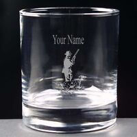 Personalised Shooting Whisky Juice Glass 10oz Or Hi Ball Free Engraving