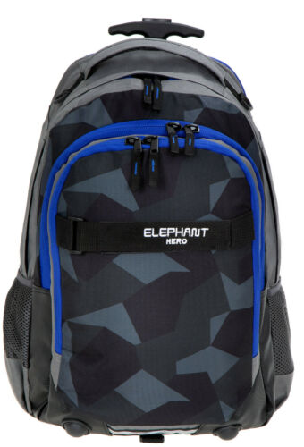 Tasche 12771 Cyber Camo BL 2T Set Trolley Elephant Hero Signature Schultrolley