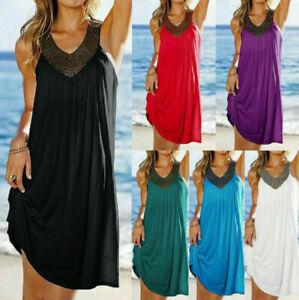 Women-Summer-Boho-Casual-Long-Maxi-Evening-Party-Sleeveless-Beach-Dress-Sundress