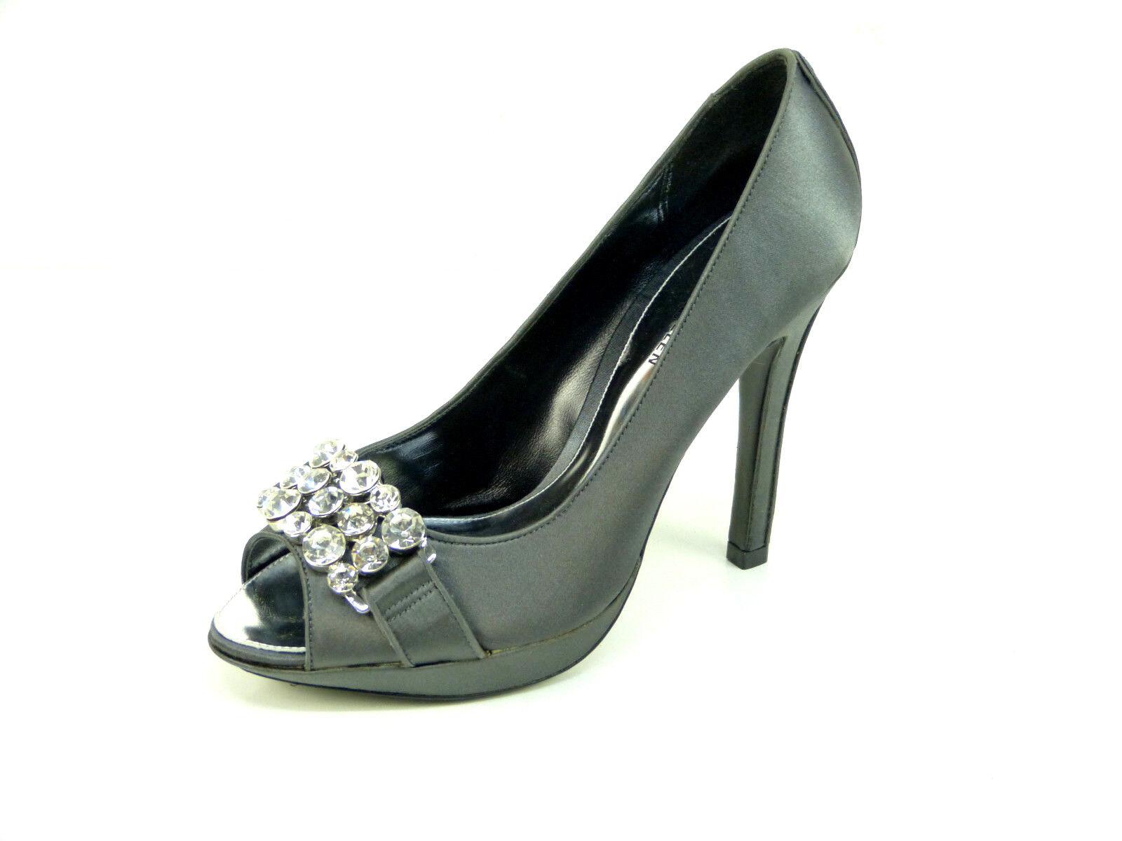 Karen Millen Pump storlek 36  grå grå grå med stenar & Luxury Pur ny (O 5633)  wholesape billig
