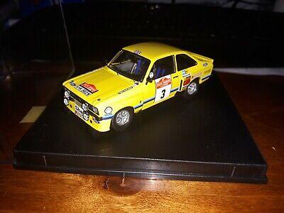Ford Escort RS 1800 Tarmac 1:43 Trofeu 2502 Rallye San Remo 1975 Mäkinen