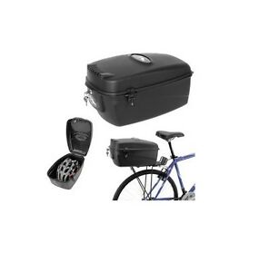 m wave fahrrad koffer amsterdam box 17l schwarz topcase. Black Bedroom Furniture Sets. Home Design Ideas