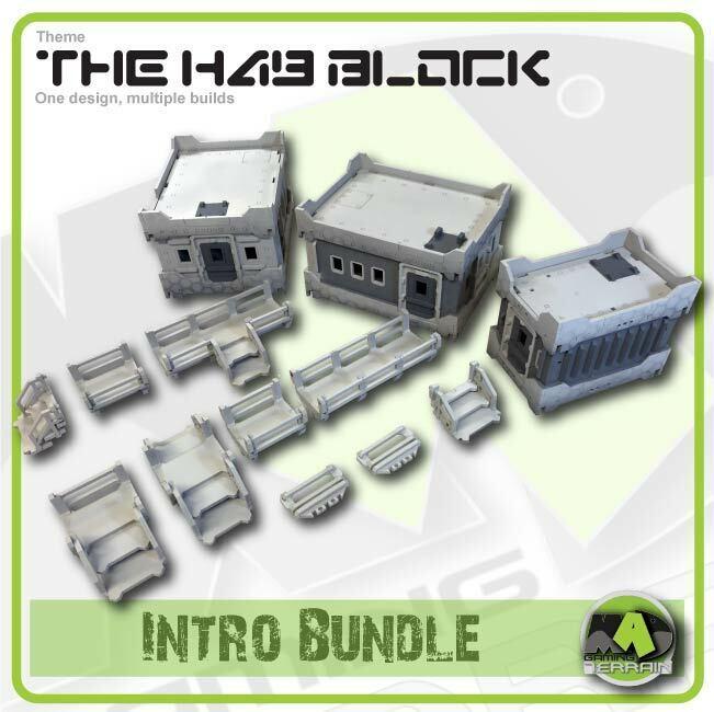El bloque hab-Intro Paquete (Mad terreno de juego)