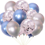 10-20-chrome-Ballons-Metallique-Latex-Pearl-12-034-Helium-Ballon-Fete-D-039-Anniversaire-UK miniature 47