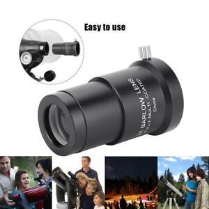 Outdoor-Metal-3X-Barlow-Lens-1-25-034-31-7mm-Astronomical-Telescope-Eyepiece-SP