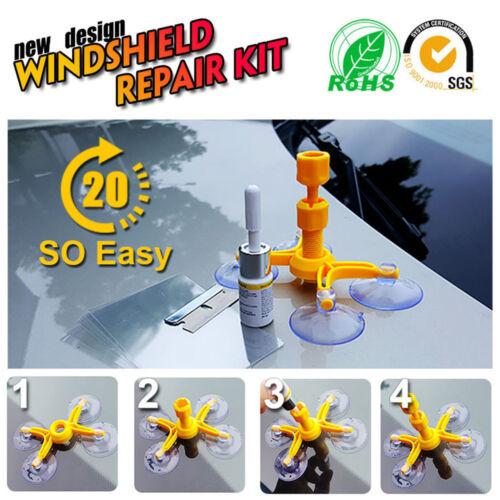 Car Auto Glass Windshield Windscreen Instrument Repair DIY Glass Repair Tool