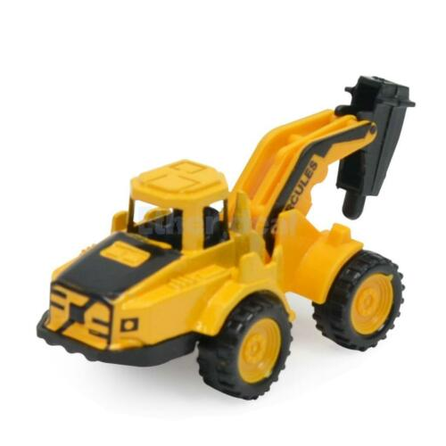 8Pcs Kinder Baustellenfahrzeug Spielzeug aus Legierung /& Kunststoff,
