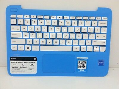 HP STREAM 11-AS 11-Y SERIES KEYBOARD PALMREST ASSEMBLY NO TOUCHPAD 902956-001 US