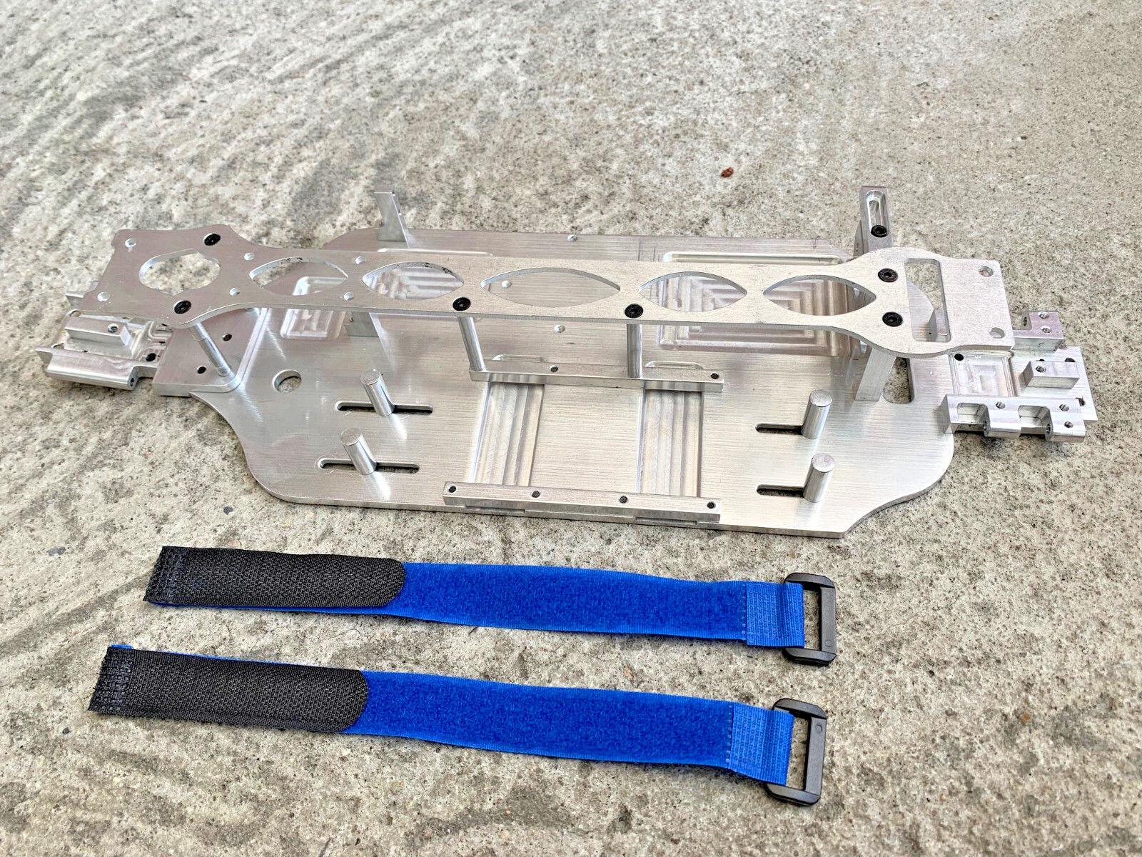 Aluminium - chassis - kit traxxas slash vxl 4x4 lcg