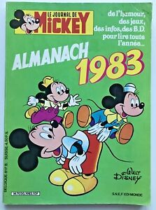 BD-Journal-de-MICKEY-ALMANACH-1983-Walt-Disney-Donald-Picsou-Daisy-Dingo