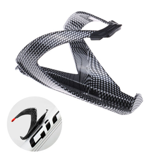 Carbon Fiber Road  Bicycle Bike Cycling Water Bottle Drinks Holder Rack Cage RS