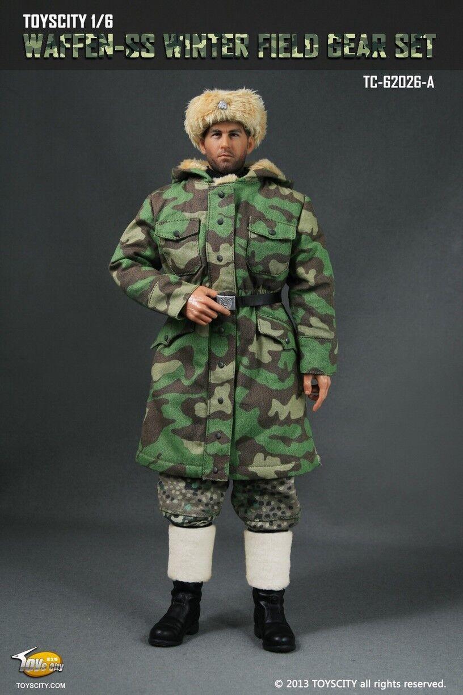Toys City 1/6 WWII Waffen-SS Winter Field Gear Set Italian & Pea dot camouflage