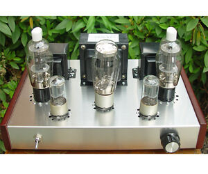 Details about DIY kit FU25+ 6N8P Class A vacuum tube amplifier kit tube AMP  10W+10W