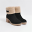 Womens-Winter-Solid-Flat-Buckle-Short-Snow-Boots-Warm-Casual-Fashion-Shoes-Size thumbnail 18