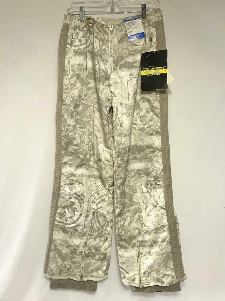 Obermeyer Women's Dynasty Snow Ski Pant Size 8 Malt Print NEW
