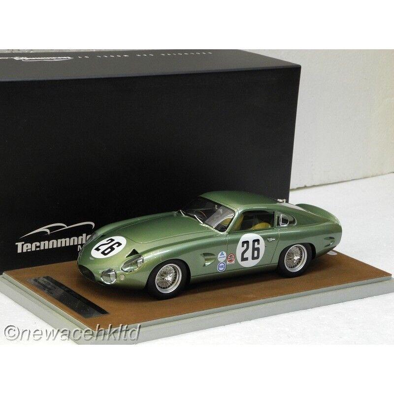 Aston Martin Diamond Pearl 214 Daytona 1964 voiture  26 LIM 60PCS Tecnomodel 1 18  TM18-72D