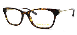 e6f9e536b1 New Authentic Tory Burch 2063 1033 Tortoise Plastic Eyeglasses 51-18 ...