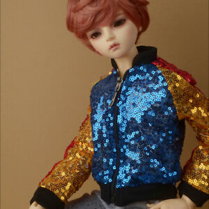 """Dollmore  1//3 BJD 22/"""" doll clothes  SD size GBJ Spangle Jacket RYB"""