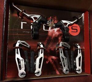 Freni-leve-bici-V-brakes-Radius-power-brake-system-set-mountain-bike-lever-MTB