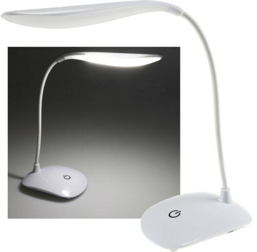 LED Schreibtisch Leuchte mit TOUCH Schalter kabellos Batterie Schreibtischlampe
