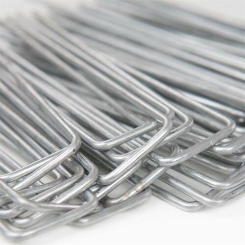 Heringe Erdanker Bodenanker 100 Stück 150x30mm Zelthering Erdnagel feuerverzinkt