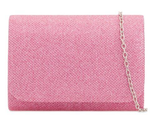 Nuevas damas Brillo Reflejo nupcial Mini Monedero Clutch Bag