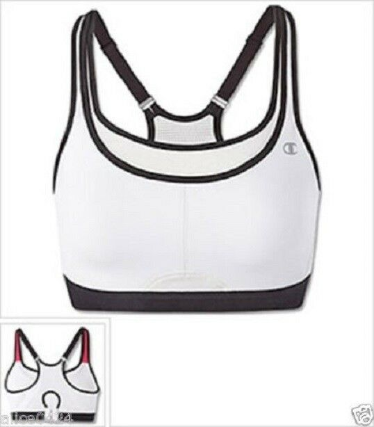Champion All-Out-Support Sports Bra Bargain Price 36D,38C,38D,40D White