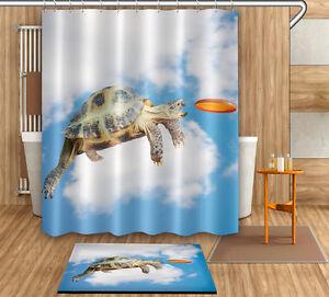 Image Is Loading Tortoise Cloud Shower Curtain 72 79 034 Bathroom