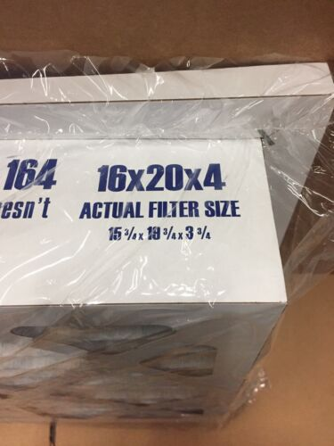 """COMPARE TO FC40R1052 /'FLOW RIGHT/' 16/""""x20/""""x4/"""" MERV10 FILTER W// 1/"""" LIP FRF20 164"""