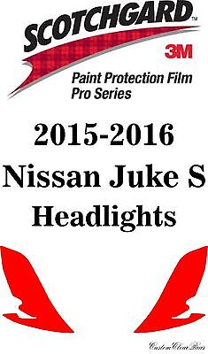 3M Scotchgard Paint Protection Film Pro Series Fits 2015 2016 Nissan Juke Nismo