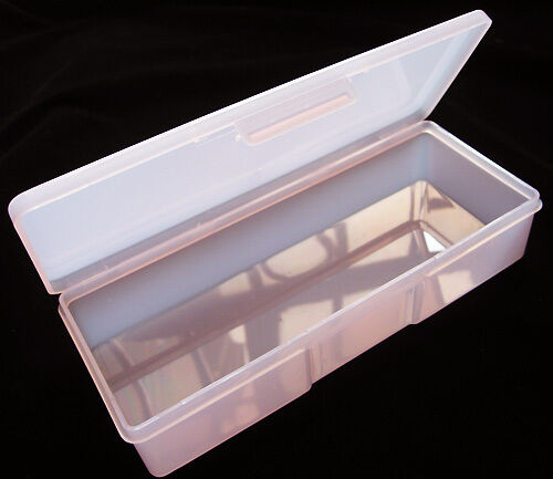 Case / Box / Holder Nail Art Tools Plastic Storage Box Brushes Container Pink