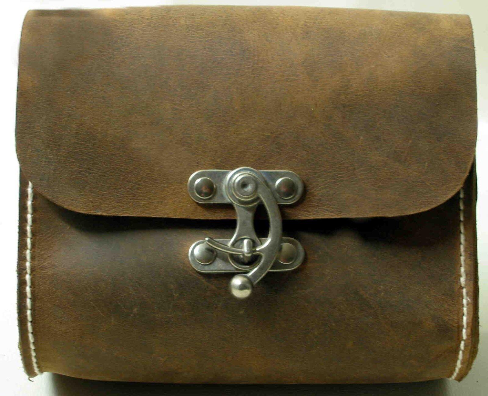 1A SATTLERARBEIT Vintagetasche TOP Handtasche BÜFFELLEDER BÜFFELLEDER BÜFFELLEDER Schultertasche NEU Kl | Luxus  88e553
